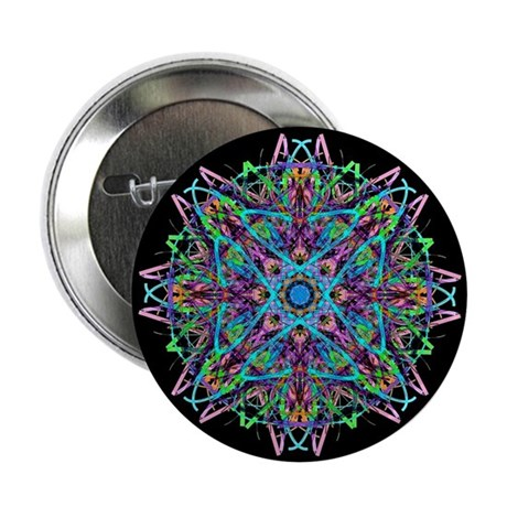 "Kaleidoscope 005e 2.25"" Button (100 pack)"