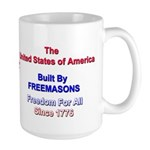 Masonic Freedom Large Mug