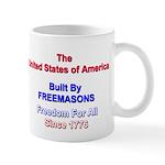 Masonic Freedom Mug