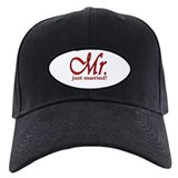 His & Her Just Married Baseball Hat