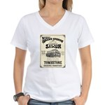 Occidental Saloon Women's V-Neck T-Shirt