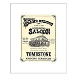 Occidental Saloon Small Poster