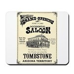 Occidental Saloon Mousepad