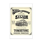 Occidental Saloon Mini Poster Print