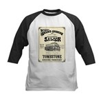 Occidental Saloon Kids Baseball Jersey