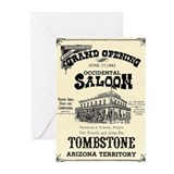 Occidental Saloon Greeting Cards (Pk of 10)