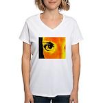 Dynomoose Women's V-Neck T-Shirt