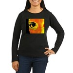 Dynomoose Women's Long Sleeve Dark T-Shirt