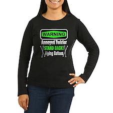 Warning Annoyed Twirler T-Shirt