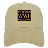 WORLD WAR II VETERAN Casquettes de Baseball
