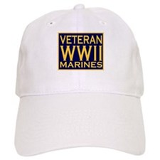 MARINES VETERAN WW II Baseball Cap
