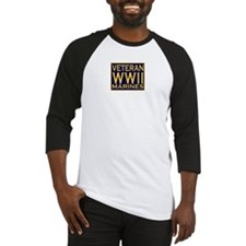 MARINES VETERAN WW II Baseball Jersey