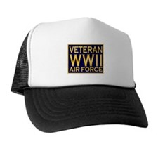 AIRFORCE VETERAN WW II Trucker Hat