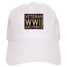 AIRFORCE VETERAN WW II Baseball Cap