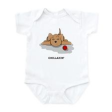 Chillaxin' Dog Infant Bodysuit