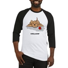 Chillaxin' Dog Baseball Jersey