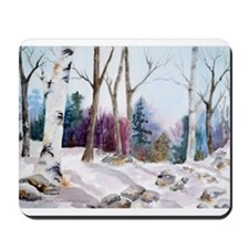 Winter Woodland Mousepad