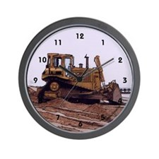 Bulldozer - Wall Clock