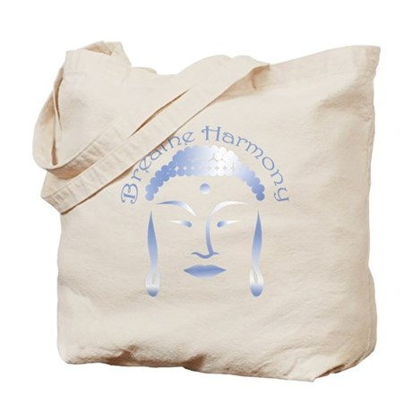Buddha Head 3 Tote Bag