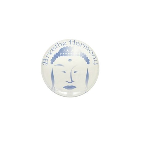 Buddha Head 3 Mini Button (10 pack)