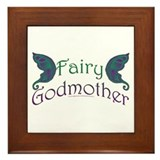 Fairy Godmother Framed Tile