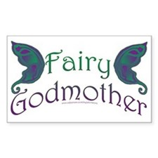 Fairy Godmother Rectangle Decal