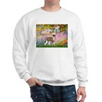 Garden / Chinese Crested Sweatshirt