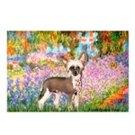 Garden / Chinese Crested Postcards (Package of 8)