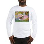 Garden / Chinese Crested Long Sleeve T-Shirt