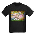 Garden / Chinese Crested Kids Dark T-Shirt