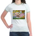Garden / Chinese Crested Jr. Ringer T-Shirt