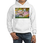 Garden / Chinese Crested Hooded Sweatshirt