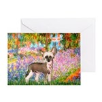 Garden / Chinese Crested Greeting Card