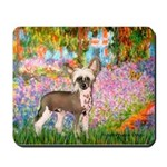 Garden / Chinese Crested Mousepad