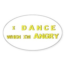 Dance - Oval Decal
