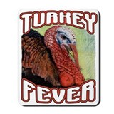 Turkey Fever Mousepad