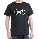 Mini Schnauzer Oval T-Shirt