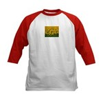 Sunflowers Kids Baseball Jersey