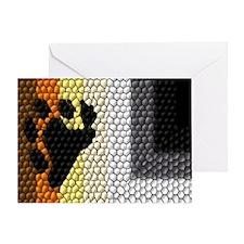 MOSAIC BEAR PRIDE FLAG DESIGN Greeting Card