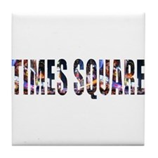 Times Square Tile Coaster