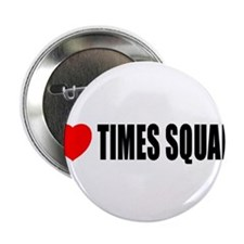 """I Love Times Square 2.25"""" Button (100 pack)"""