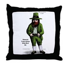 Fuller and Son Brewery Throw Pillow