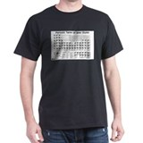Beeriodic Table T-Shirt