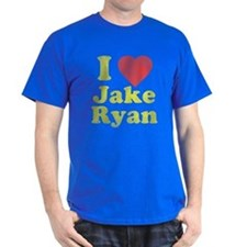 I Love Jake Ryan Dark T-Shirt