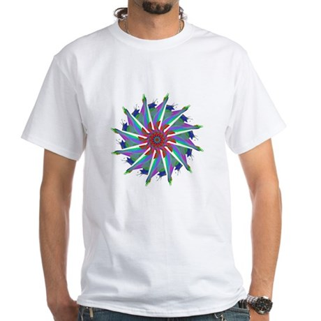 Kaleidoscope 0006 White T-Shirt