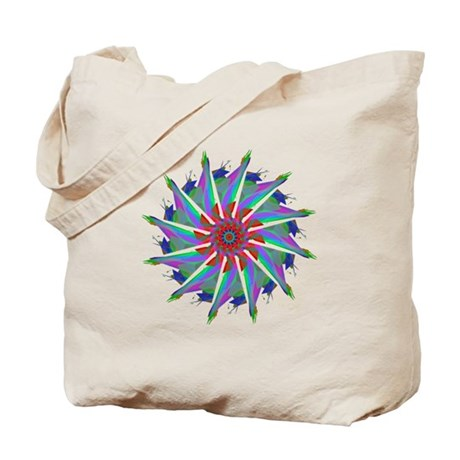 Kaleidoscope 0006 Tote Bag