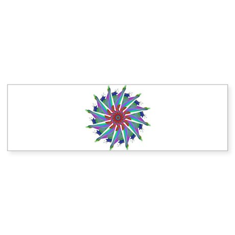 Kaleidoscope 0006 Bumper Sticker