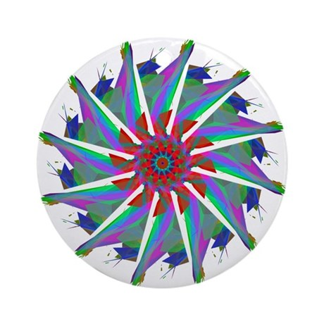 Kaleidoscope 0006 Ornament (Round)