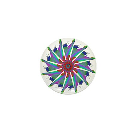 Kaleidoscope 0006 Mini Button (10 pack)