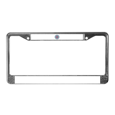 Kaleidoscope 0006 License Plate Frame